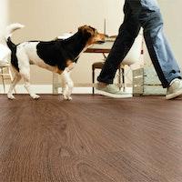 HANDMUSTER DECOLIFEcomfort Designvinyl Landhausdiele Russet Oak