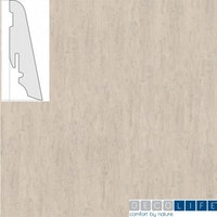 DECOLIFEcomfort Steckfußleiste Polar Oak/Polareiche