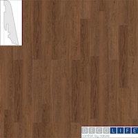 DECOLIFEcomfort Steckfußleiste Russet Oak/Raucheiche