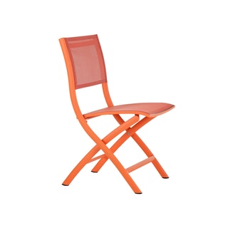 Diamond Garden Klappstuhl Kingston Aluminium / Batyline Neon Orange
