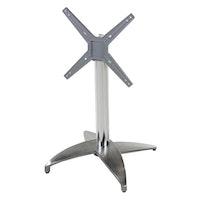 Diamond Garden 4-Fuß Tischgestell LEON Aluminium