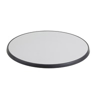Diamond Garden DiGalit Tischplatte Ø 70 cm Metall gebürstet