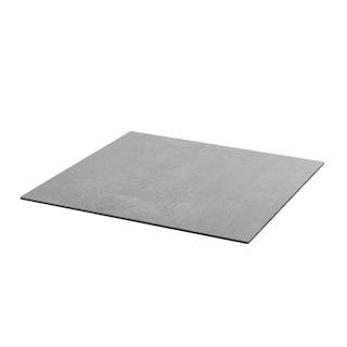 Diamond Garden DiGa Compact Tischplatte mit Fase 68 x 68 cm HPL Beton dunkel