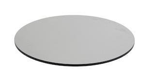 Diamond Garden DiGa Compact Tischplatte mit Fase Ø 68 cm HPL Beton hell