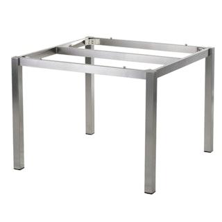 Diamond Garden Tischgestell SAN MARINO 98 x 98 cm Edelstahl