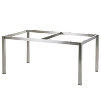 Diamond Garden Tischgestell SAN MARINO 158 x 98 cm Edelstahl