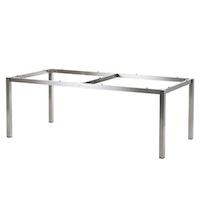 Diamond Garden Tischgestell SAN MARINO 198 x 98 cm Edelstahl