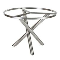 Diamond Garden Tischgestell SAN MARINO Ø 100 cm Edelstahl