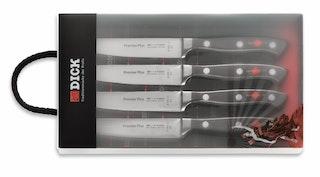 F. DICK Steakmesser-Set Premier Plus 4-teilig
