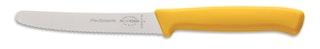 F. DICK Allzweckmesser Wellenschliff ProDynamic gelb 11 cm