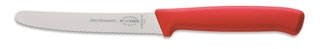F. DICK Allzweckmesser Wellenschliff ProDynamic rot 11 cm