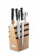 F. DICK Design Messerblock Premier Plus aus Holz mit Magnetleiste 5-teilig