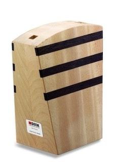 F. DICK Messerblock Holz mit Magnet leer