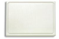 F. DICK Schneidbrett mit Saftrille weiß 265 x 325 x 18 cm