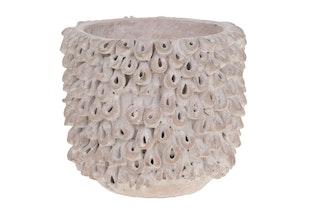 DIJK Pflanztopf aus Keramik, 16 x 16 x 14,5 cm