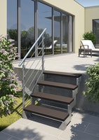 DOLLE Gardentop Stufe TRIMAX 80 cm