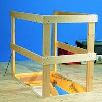 DOLLE Lukenschutzgeländer aus Holz für 140 x 70 cm