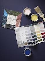 ELLE DECORATION by Crown Premium Wandfarbe Matt versch. Farben