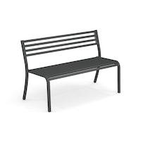 EMU 2-Sitzer Bank SEGNO, Stahl antikeisen