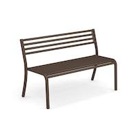 EMU 2-Sitzer Bank SEGNO, Stahl indischbraun