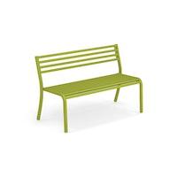EMU 2-Sitzer Bank SEGNO, Stahl grün