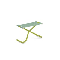 EMU Fußhocker SNOOZE Stahl grün / Kunststoffgewebe minz