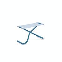 EMU Fußhocker SNOOZE Stahl blau / Kunststoffgewebe hellblau