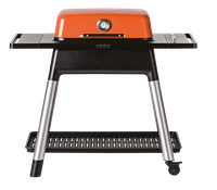 everdure FORCE Gasgrill orange mit zwei Brennern