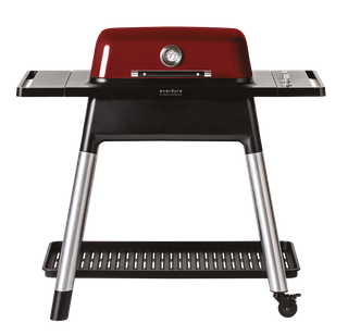 Everdure FORCE Gasgrill rot mit zwei Brennern