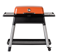 everdure FURNACE Gasgrill orange mit drei Brennern