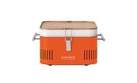 everdure CUBE Holzkohlegrill orange