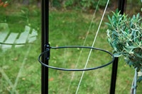 Juliana Ringhalter schwarz Durchmesser 30 cm