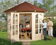 Geschlossener Pavillon