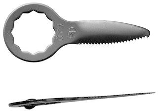 Schneidmesser gerade Form, Schneidenlänge 35 mm, Gesamtlänge 56 mm