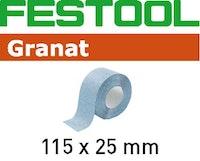 Festool Schleifrolle 115x25m P60 GR