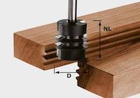 Festool Verleimfräser HW Schaft 8 mm HW S8 D34/NL32