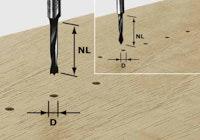 Festool Dübelbohrer HW Schaft 8 mm HW S8 D6/30 Z