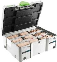 Festool DOMINO XL Buche Sortiment DS/XL D8/D10 306x BU