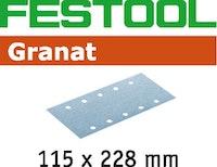 Festool Schleifstreifen STF 115X228 P40 GR/50