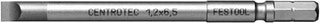 Festool Bit SZ 1,2x6,5-100 CE/2