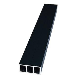 FIBERON Aluminium Unterkonstruktion RAL 7016, 40 x 24 mm