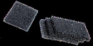 Feuchtigkeitssperre / Gummigranulat Unterleg-Pads für Gartenhäuser 24 Stück