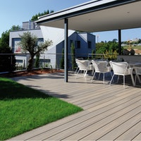 FUN-Deck Ultrashield® WPC-Terrassendiele Multigrey light