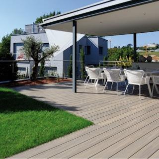FUN-Deck Ultrashield® WPC-Terrassendiele Multigrey light