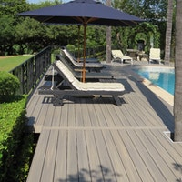 FUN-Deck Ultrashield® WPC-Terrassendiele Multigrey light, Vollprofil