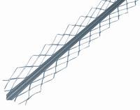 GAH Kantenputzprofil, Stahl roh, 32x32mm, Länge 2,6m