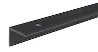 GAH Treppenkanten-Schutzprofil, 25x20 mm, Kunststoff, schwarz