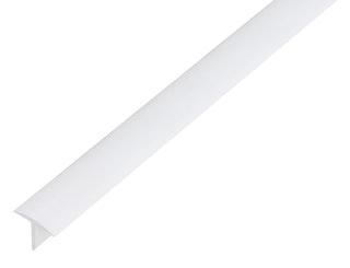 GAH T-Profil, Kunststoff, 25x18mm, Länge 1m