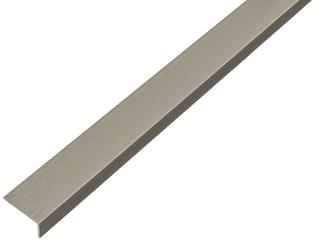 GAH Winkelprofil selbstklebend, Alu, 20x10mm,Länge 1m,