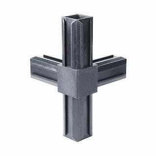 GAH XD-Rohrverbinder T-Stück plus ein rechtwinkeliger Abgang